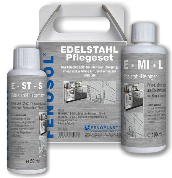 pflege edelstahl excellent m edelstahl pflege spray. Black Bedroom Furniture Sets. Home Design Ideas